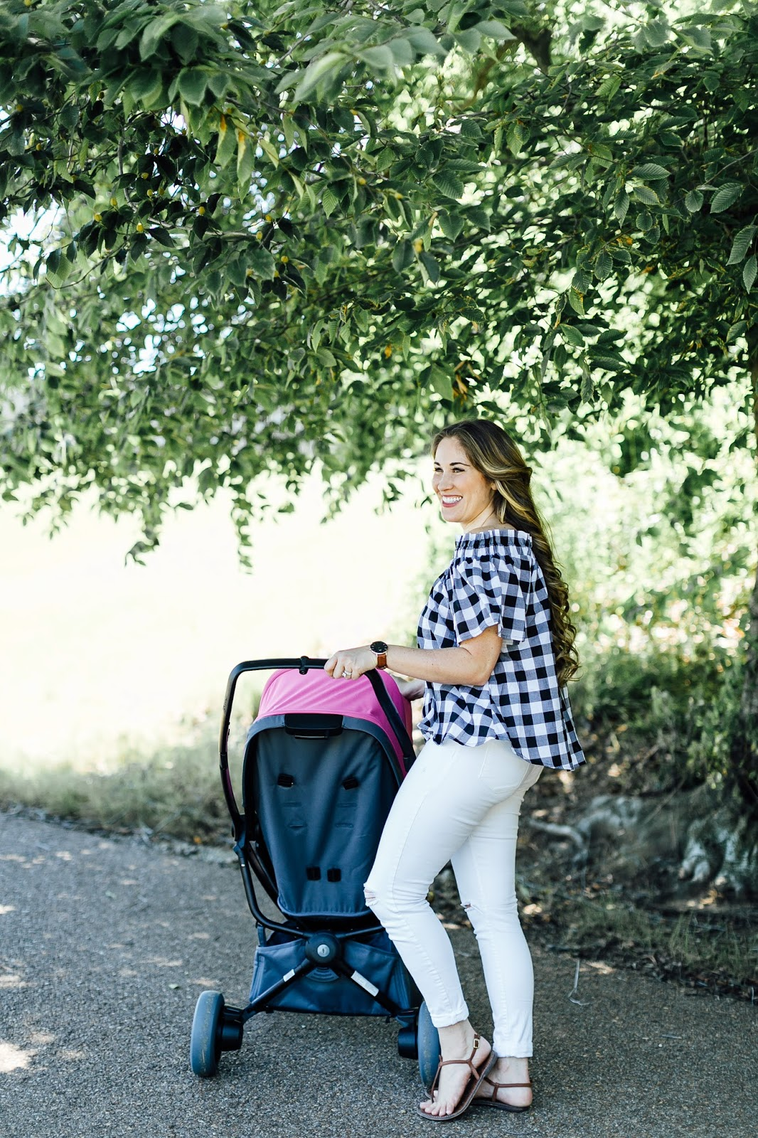 5 Activities For Toddlers on Stroller Walks by popular lifestyle blogger Laura of Walking in Memphis in High Heels