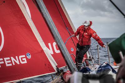 Dongfeng sur la Volvo Ocean Race