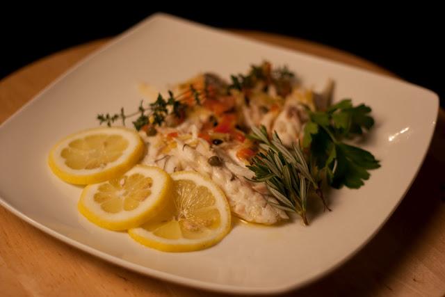Capital cooking with lauren desantis recipe salt crusted for What is branzino fish