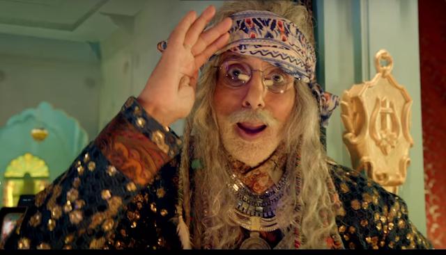 Photo of Amitabh Bachchan seen in 7 new Avatars in Tata Sky's Family Jingalala campaign