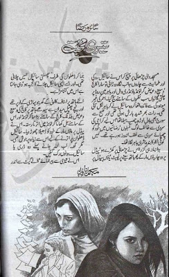 Teesri mohabbat novel by Saira Raza