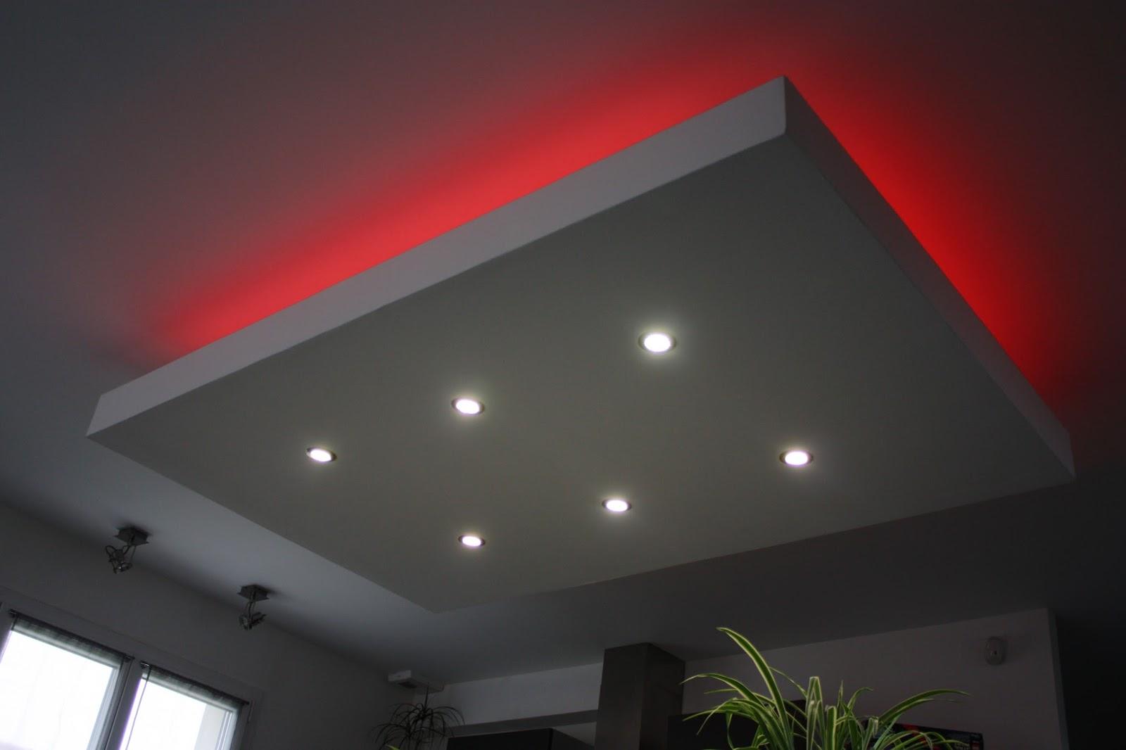 Souvent Bricolage : De l'idée à la réalisation. : Eclairage LED faux plafond DU71
