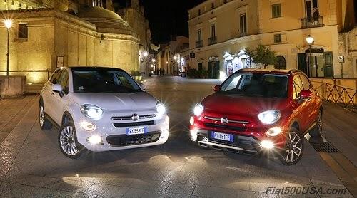 Fiat 500X in Italy