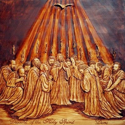 Descent of the Holy Spirit - Dore
