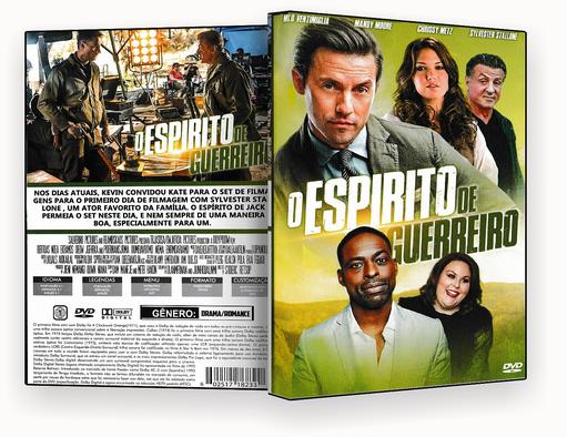 CAPA DVD – O Espirito de Guerreiro – 2018 – ISO