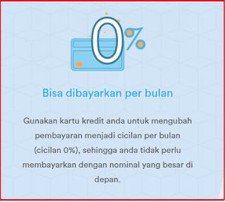 Jendela360 menyediakan Program Cicilan 0 % apartemen di Jakarta