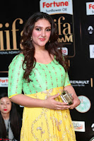 Sridevi Telugu Actressi in green Yellow Anarkali Dress at IIFA Utsavam Awards 013.JPG