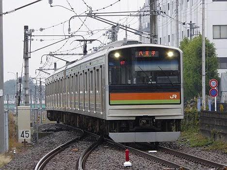 【ダイヤ改正前に離脱!】八高線 八王子行き205系3000番台