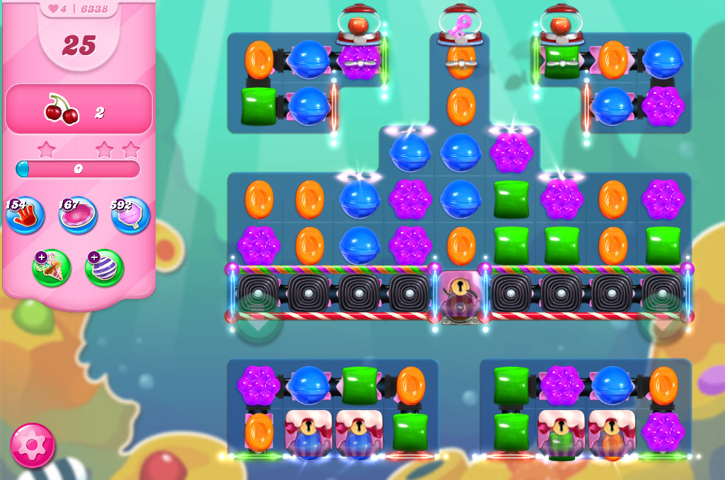 Candy Crush Saga level 6338