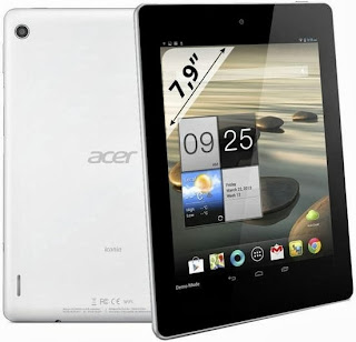 Gambar Acer Iconia A1 3G Tablet Jelly Bean Quad Core Harga 2 Jutaan