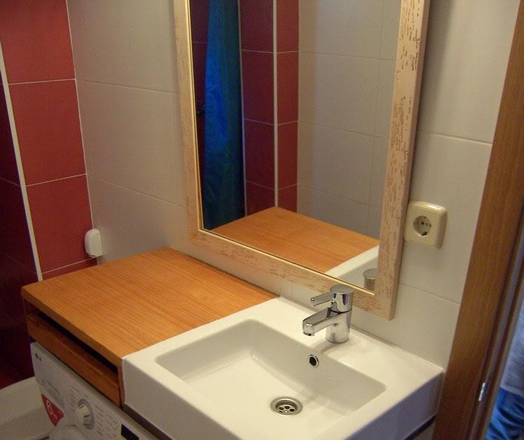 Supermanitas lavabo encimera y cajonera en espacio reducido for Mueble lavabo desague suelo