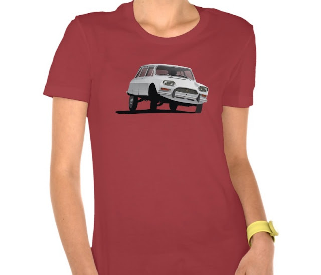 Classic ca Citroen Ami Break t-shirt