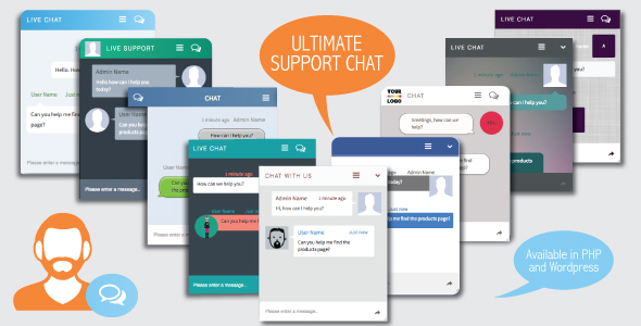 CodeCanyon - Ultimate Support Chat - PHP Live Chat