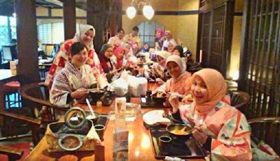 Hijab kimono di Jepang