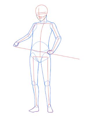 cara menggambar Sasuke Hebi tahap 6