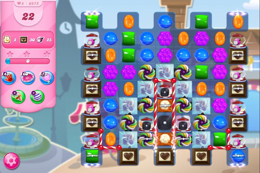 Candy Crush Saga level 6272