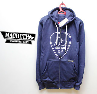 Jaket Fleece Hoodie Macbeth MAC014