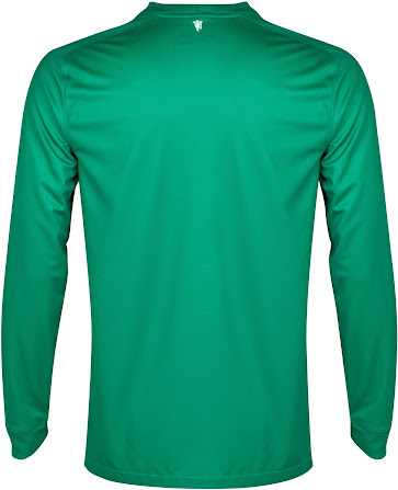29acaebf7 The Manchester United 2014-2015 Goalkeeper Kits feature a triangle color  gradient effect