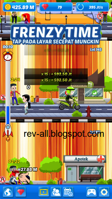 Frenzy time game permainan android juragan ojek (game indonesia buatan anak bangsa) shared by rev-all.blogspot.com