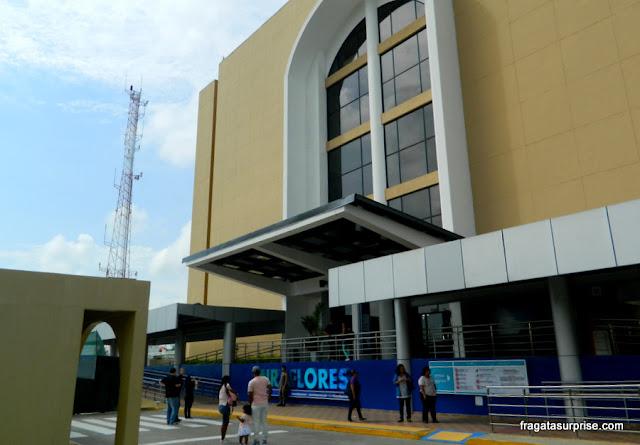 Centro de Visitantes das Eclusas de Miraflores no Canal do Panamá