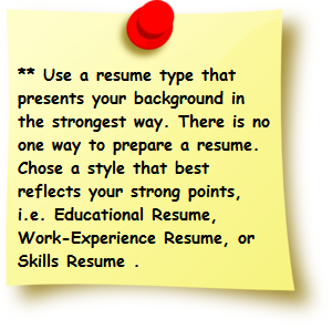 You Must Know That Your Resume Is The Entry For Your Career. So It Is Very  Very Important That How You Present Your Resume. A Normal Resume Has Its  Own ...  Resume Tips And Tricks