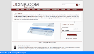 JCink homepage
