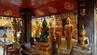 Emerald buddha statue at Wat Phra That Doi Suthep