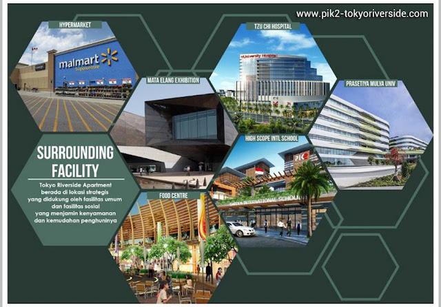 Surounding Facilities Tokyo Riverside PIK 2