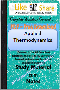 Applied Thermodynamics By Muralidhar Pdf
