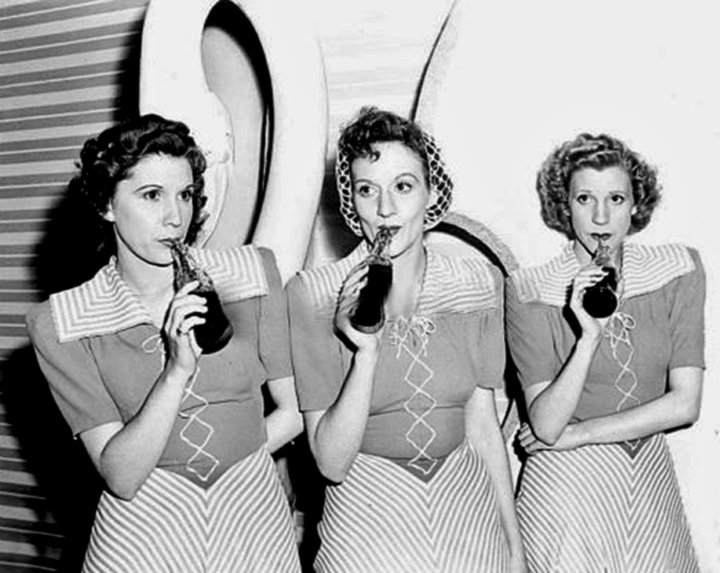 a trip down memory lane photos of the day the andrews sisters