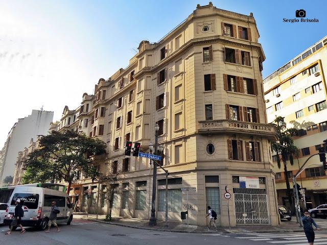 Vista ampla do Antigo Hotel Atlântico - Centro - São Paulo
