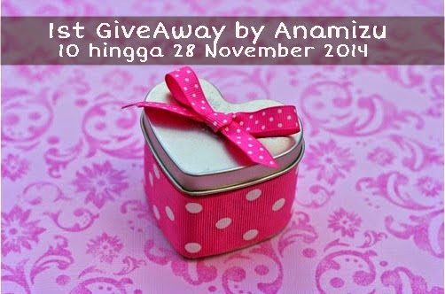 1st GiveAway By Anamizu