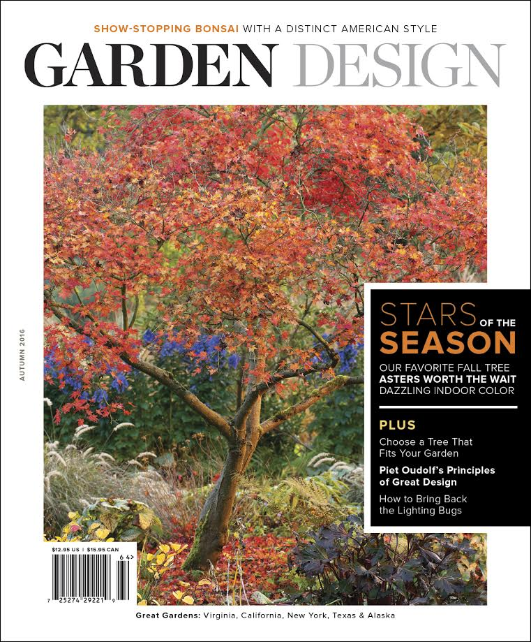 Garden design magazine 39 s new gorgeous videos for Garten design magazin