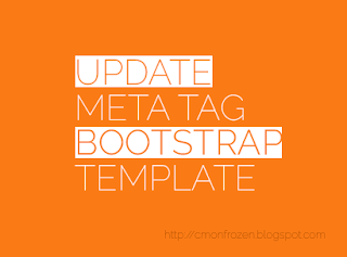 Update Meta Tag Bootstrap Template