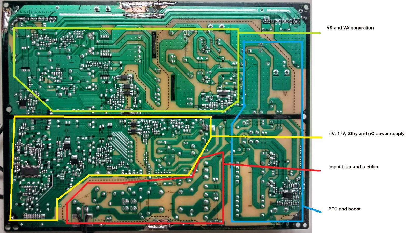 Electronics repairs: LG PSU board EAY60968801 repair