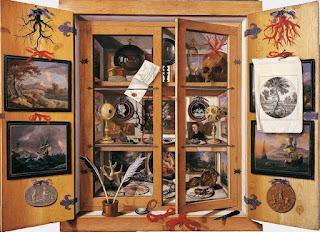 Domenico Remps - Cabinet de curiosité - 1690.
