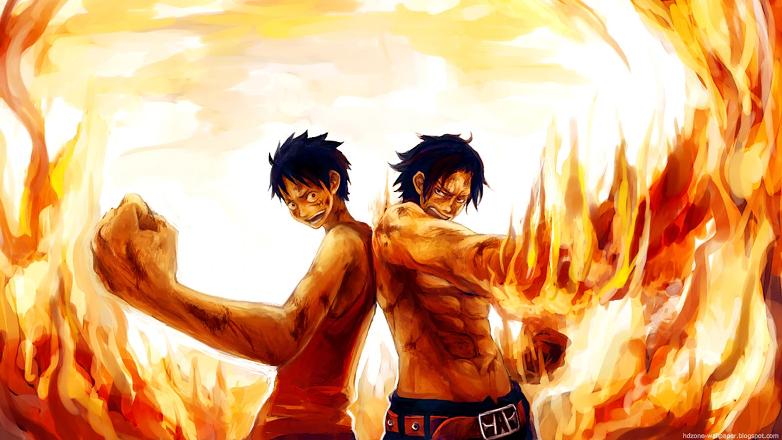 one piece luffy and - photo #35