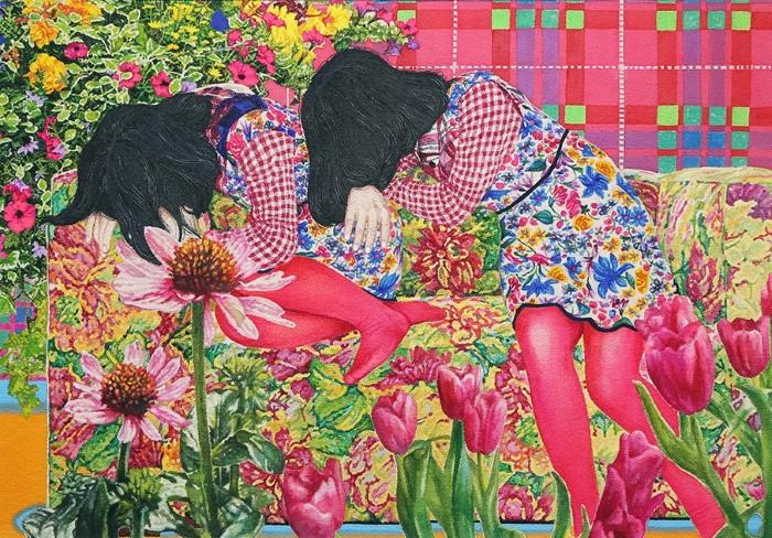 Японский художник. Naomi Okubo