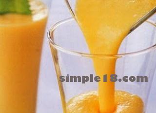 طريقة عمل كوكتيل الموز والبرتقال