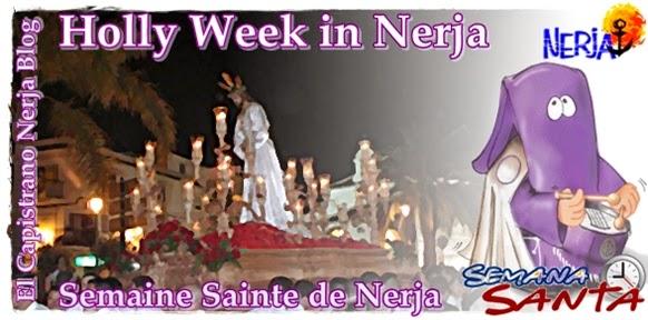 Semana Santa de Nerja, horarios y recorridos de las procesiones