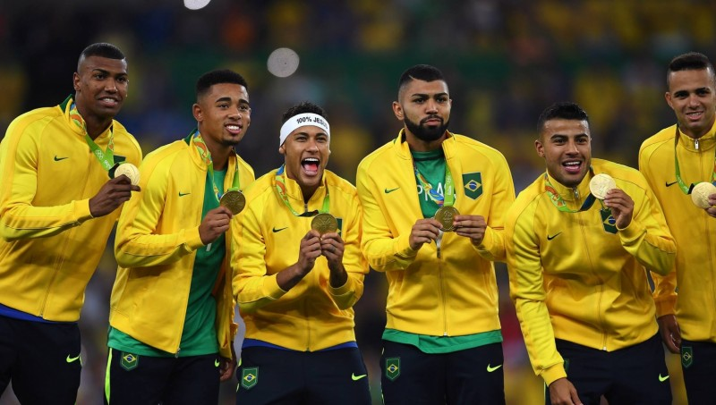 Brasil meraih emas sepakbola olimpiade Rio