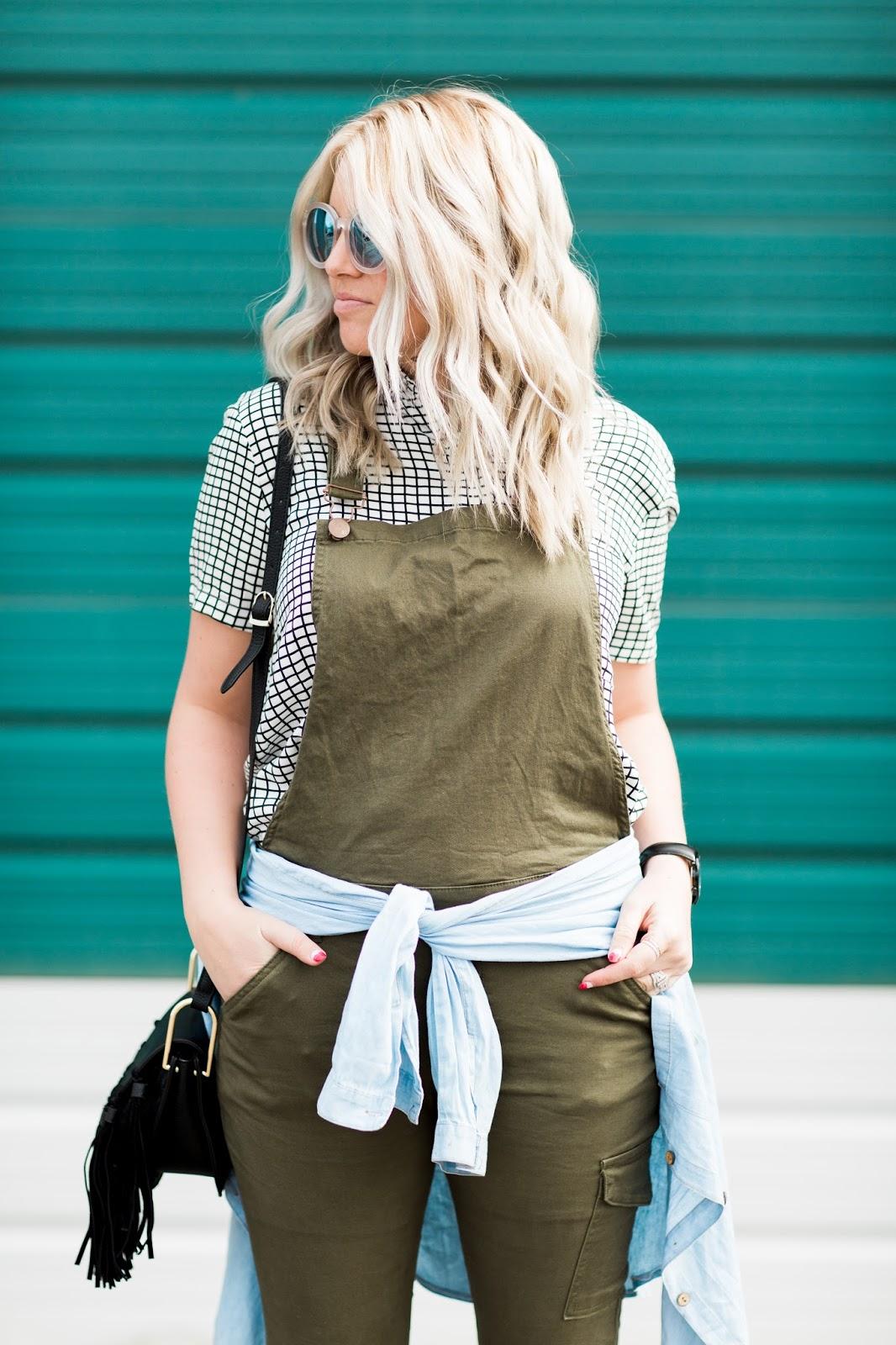 Olive Overalls, Cotton On, Utah Fashion Blogger