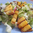 Grilled Nectarine and Pumpkin Seed Salad
