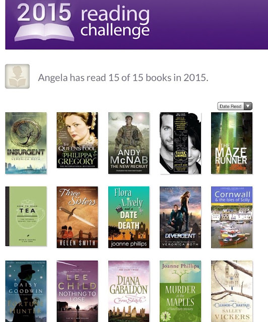 My 2015 Reading Challenge Book List