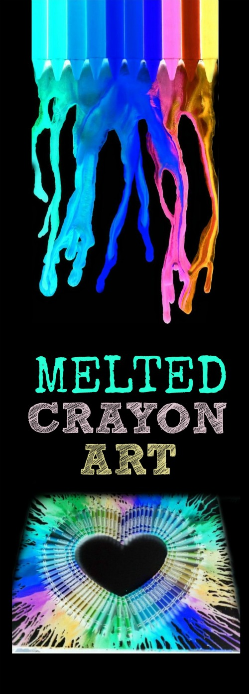 AMAZING MELTED CRAYON ART FOR KIDS (You won't believe your eyes!)