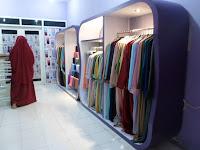 Interior Desain Toko Pakaian Muslim Hijab Gamis Kerudung