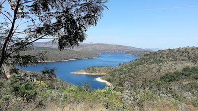 vista do Lago de Furnas