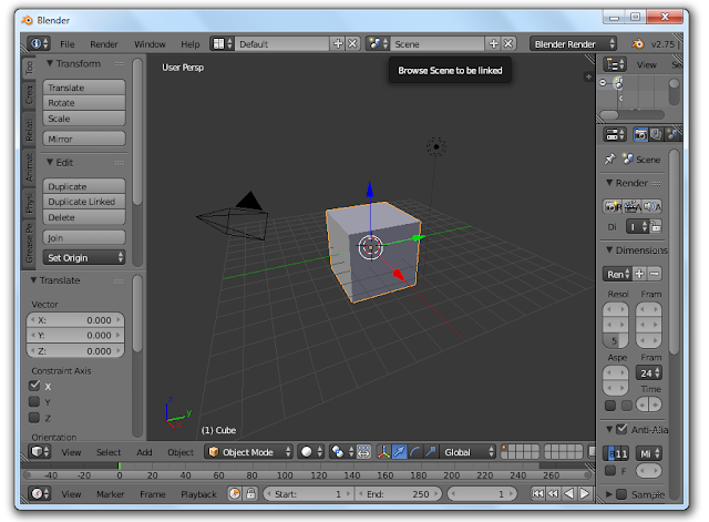 Blender 2.75 For PC