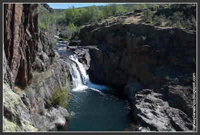 Resultado de imagen de Cascada del Aljibe roblelacasa