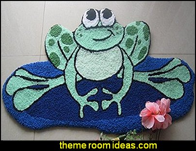Frog Design Bedroom Rugs